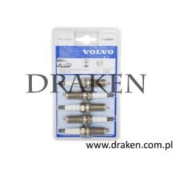 Świeca zapłonowa V40 II, S60 II, V60, V70 III, XC60 B5204T8, B5204T9 benzyna -komplet, oryginał VOLVO