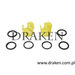 O-ring uszczelka nagrzewnicy - zestaw 850, C70, S70, V70