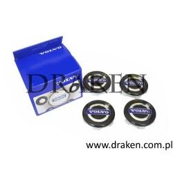 Zaślepka środkowa felgi -komplet 850, C30, C70 II, S40 II, V50, V40, S60 I II, V60, S80, V70, XC70, XC60, XC90, S90, V90