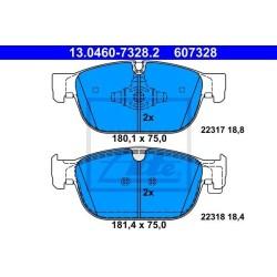 Klocki hamulcowe przód S90 II, V90 II XC60 II, XC90 II do tarcz 345mm i 366mm ATE GERMANY