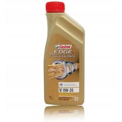 Olej silnikowy CASTROL EDGE PROFFESIONAL 0W20 Syntetyk 1L Drive-E