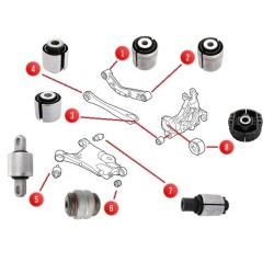 Zetaw tulei tylnego zawieszenia S60 III, V60 II, S90 II, V90 II, V90II CC XC60 II, XC90 II SIDEM