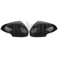 Obudowy lusterek zewnętrznych S40 II, V50, C30, C70 II, S60 CARBON LOOK