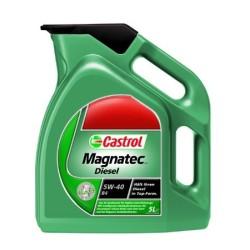 Olej silnikowy CASTROL MAGNATEC 5W40 Syntetyk 4L Diesel