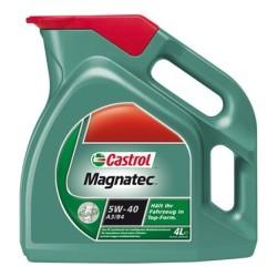 Olej silnikowy CASTROL MAGNATEC 10W40 Półsyntetyk 5L Benzyna