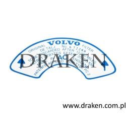 Etykieta obudowy filtra powietrza 120, 130, 220, P1800, PV P210