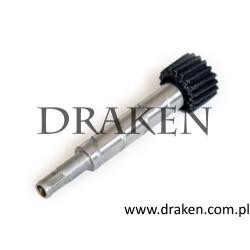 Wałek prędkościomierza w skrzyni manualnej P1800 -1969 19 zębów