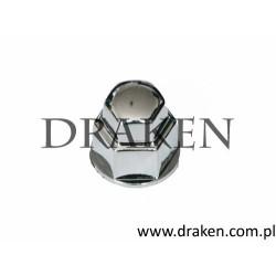 Zaślepka śruby koła 19 mm. syntetyczna, chrom
