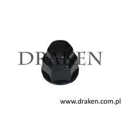 Zaślepka śruby koła 19 mm. syntetyczna, czarna