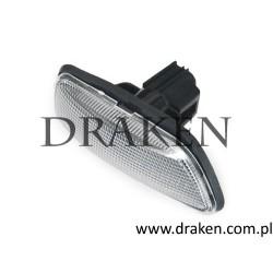 Kierunkowskaz boczny czarny S60, S80, V70 II, XC70, XC90 lewy